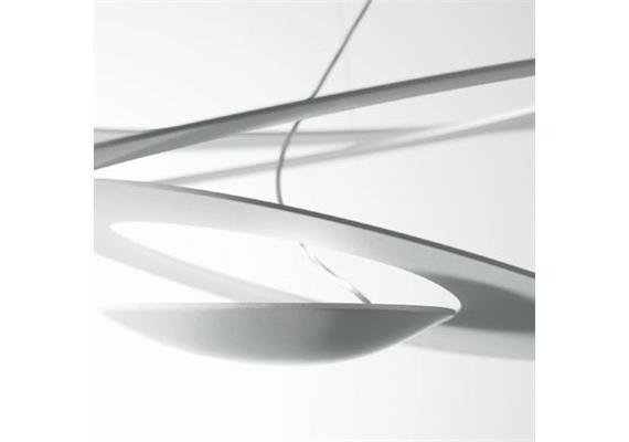 Deckenleuchte PIRCE mini weiss LED 230V 44W LED D=690 3000°K 2882lm