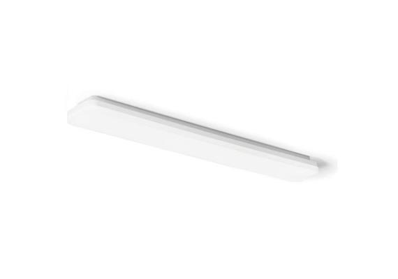 Deckenleuchte Slice long 38W weiss opal 230V/ 4000K 3000lm CRI80 L=1200 B=130 H=55 IP44
