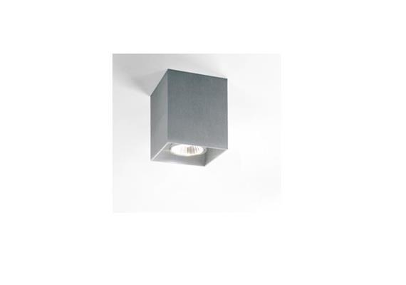 Deckenstrahler Boxy alu 230V Gu10 max.50W IP20