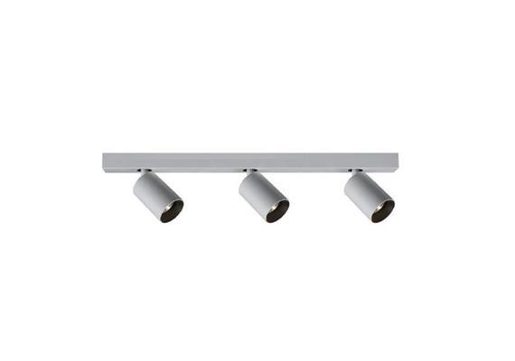 Deckenstrahler Minitube Line 3 Led 3x9.2W silber  240V/3x863lm CRI90 2700K L=560 H=148