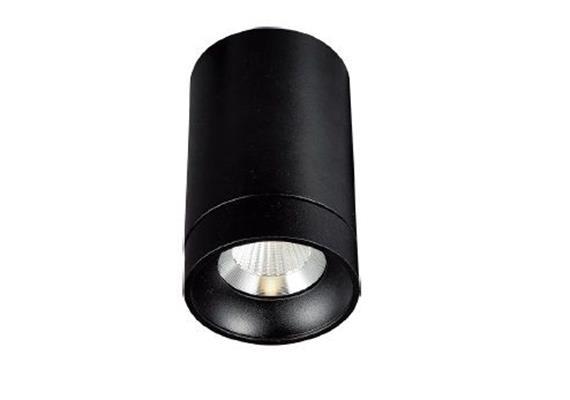 Deckenstrahler Tube Outdoor 36° starr schwarz 240V/ 9.2W 2700K 883Lm D=75 H=124 / IP65