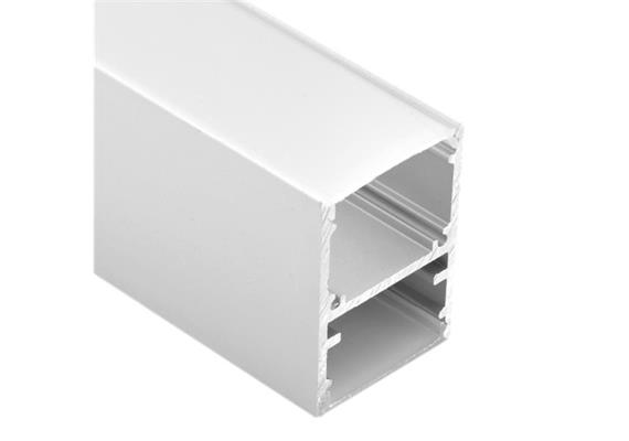 Diffussor flach für Pendel Profil Line Duo 26 opal B=25mm H=2mm L=1000