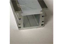 EB-Profil INTRO IP67 ink. Diffusor opal matt B=30mm ohne Laschen B=24mm H=21mm L=4000mm