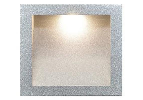 Einbauleuchte 5570 Led 3W asymmetrisch silbergrau 230V /Led Cree 3x1W/ 700mA 3000°K