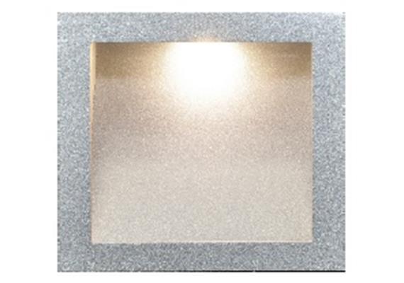 Einbauleuchte 5570 Led 3W asymmetrisch weiss 230V /Led Cree 3x1W/ 700mA 3000°K
