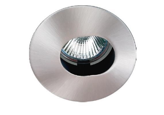 Einbauleuchte 85mm schwenkbar chrom 12V Gx 5.3 / 20-50W As=68mm