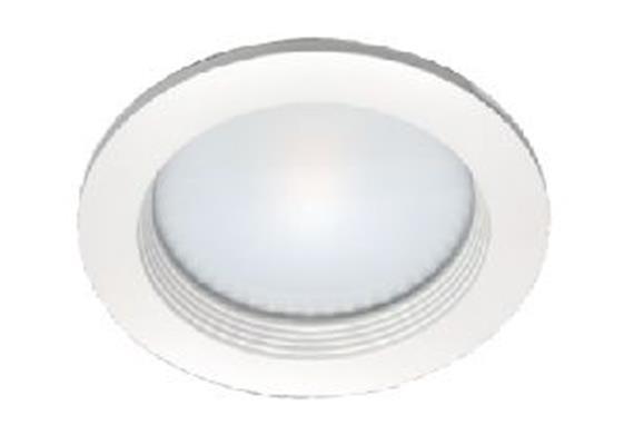 Einbauleuchte LED 10W 2700°K starr weiss Ausschnitt=140mm / D=165mm / ET=68mm