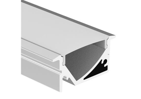 Einbauprofil Asym - Intro 29 Asymetrisch 45° Alu  L=1000mm B=29.5.1 H=13.4mm / IP20