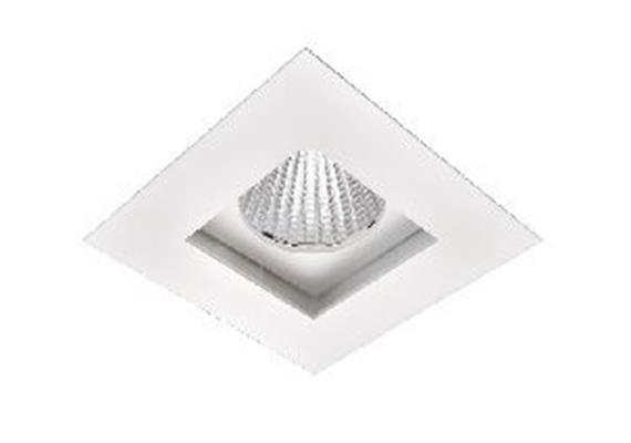 Einbaustrahler LED 15W 3000°K schwenkbar weiss /500mA / IP20