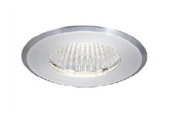 Einbaustrahler LED 9.8W 3000°K starr alu geb. LED 10W/350mA /AS=68mm/H=90mm/D=78mm IP54