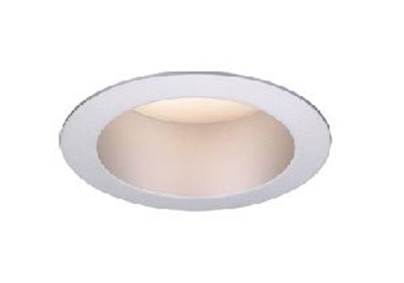 Einbaustrahler LED 9W 2700°K IP44 sandweiss LED 9W/500mA / D=92mm AS=83mm H=65mm