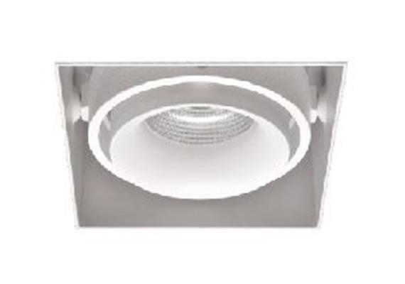 Einbaustrahler rd 91x91 LED 9.3W 45° 3000°K ws-sz 9.3W 705lm CRI 90 500mA DC IP20