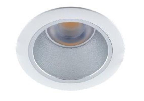 Einbaustrahler starr LED 10W 45° weiss 24V/DC / 3000°K / ET=130 D=100 As=85 / IP44