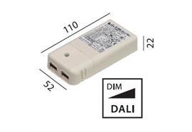 Elektr. Konverter 10W-20W / DALI 220-240V / L=111 B=52 H=22