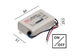 Elektr. Konverter LED DC 10-35W/700mA 220-240V / L=84 B=57 H=29.5