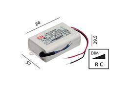Elektr. Konverter LED DC 16-25W/700mA 220-240V/ 16-24V 700mA / 2-5 Led