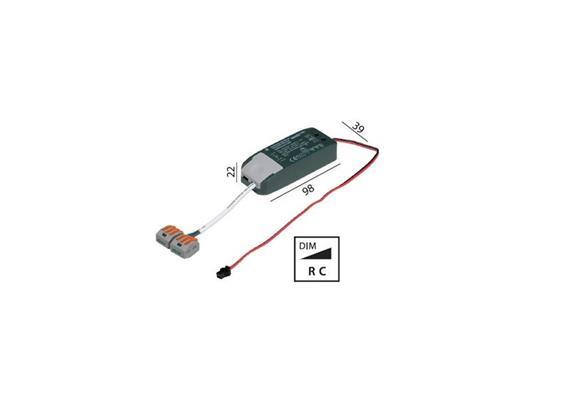 Elektr. Konverter LED DC 6-12W/350mA dimmbar 220-240V/ 18-35V 350mA