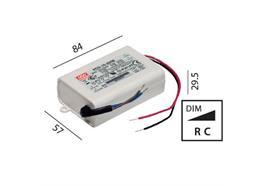 Elektr. Konverter LED DC 8-16W/350mA 220-240V