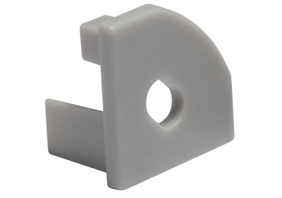 Endstück Angle 45° für Einspeisung  22x22mm