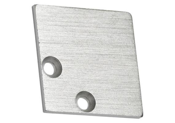 Endstücke Angle 20 MT Alu matt B=20x20mm 1Paar
