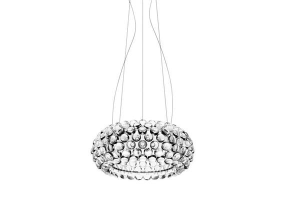 Hängeleuchte Caboche LED media transparent LED 35W 3000°K CRI>90 nicht dimmb. D=50cm