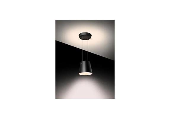 Hängeleuchte FEZ D COB-LED schwarz 240V/ 38W 3700lm 2700°K CRI 80 IP20