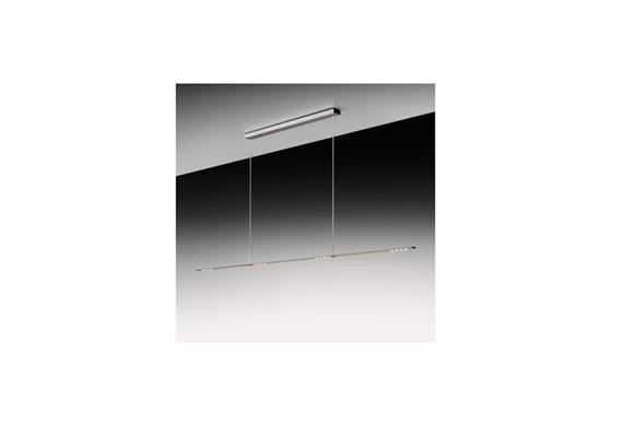 Hängeleuchte LET D 180 standard 2700°K alu 230V/ H=80-140cm 44W/ 3080lm