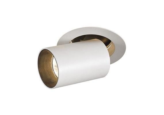 Halbeinbaustrahler Mini Tube-In 9.3W silber DC 500mA 2700K 705Lm D=60 L=90 AS=90 IP20