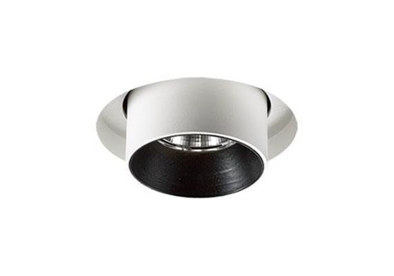 Halbeinbaustrahler Tube-In randlos 9.3W 3000K weiss 500mA DC 705lm CRI90 D=60 L=90 IP20