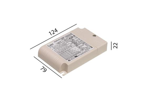 Konverter LCAI 50W 1050 mA N020 DALI 110-240V/ L=124.5 B=79 H=22
