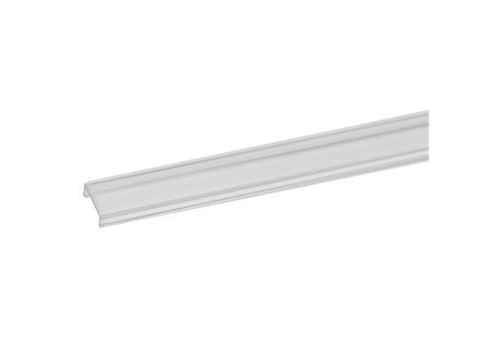 Kunststoff Abdeckung 15mm transparent  für Led Aluprofile 81001/81002/81003/81004/81006