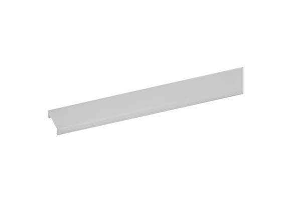 Kunststoff Abdeckung opal  für Led Aluprofile 81027/81034/81038/81035/81033/81055