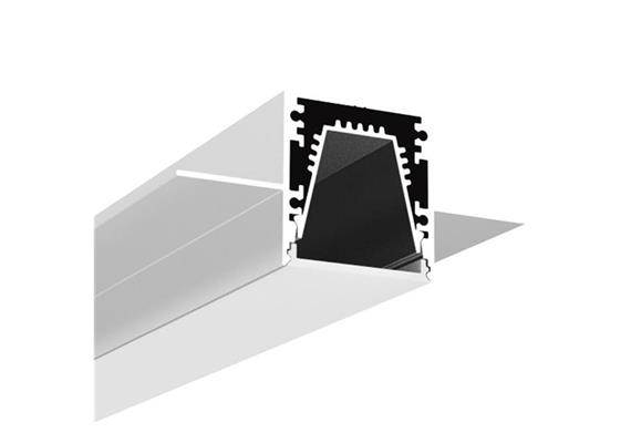 LED Profil Intro 30 R16 randlos alu  L=1000mm B=30mm ET=32mm