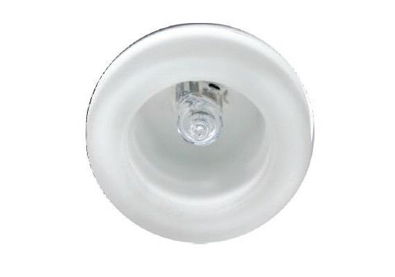 Lichtpunkt aus Glas 42mm weiss / Glas matt 12V G4 / 5-20W D= 42 As=38 ET=42