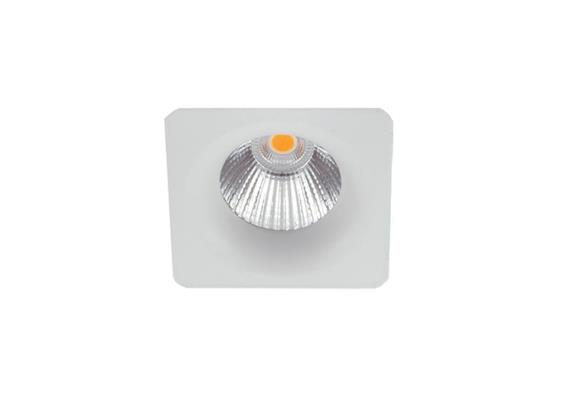 Mini- Einbaustrahler 4W 3000°K starr weiss matt  230V/ 350mA 330lm CRI90 L=55x55 / IP20
