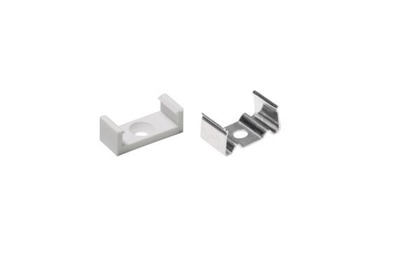 Montageklammer für Plastico Flex 18 metall Inox