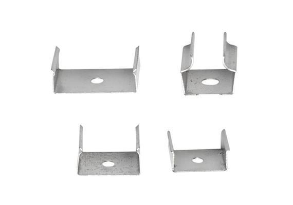 Montagklammer für Asym-Extro 16 aus Stahl