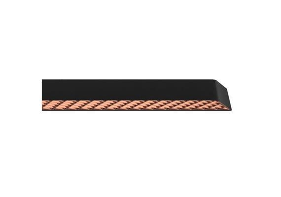 Pendelleuchte Mesh 60W DALI schwarz/bronze 230V 4000K CRI85 7900lm L=1213 B=106 H=40 IP20