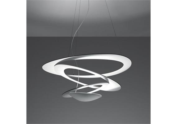 Pendelleuchte Pirce mini LED weiss dim 230V 44W 2700K 3097lm CRI=90 D=670mm H=230mm