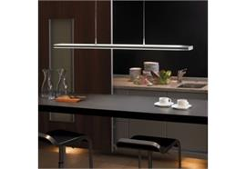 Pendelleuchte Touch LED max 72W 2700°K-5000°K L=125.6cm B=12.6cm H=2.7cm chrom