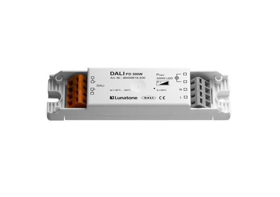 Phasenabschnittdimmer mit DALI-Eingang  230V/ 300W LED L=120 B=32 H=15