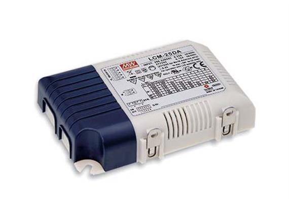 Schaltnetzgerät LCM-25DA 25W / DALI 180-240V / L=105 B=68 H=23