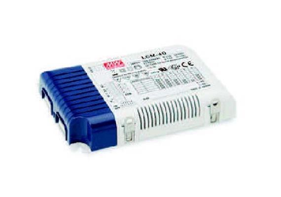 Schaltnetzgerät LCM-40 / 40W / 1-10V 180-240V / L=123.5 B=81.5 H=23