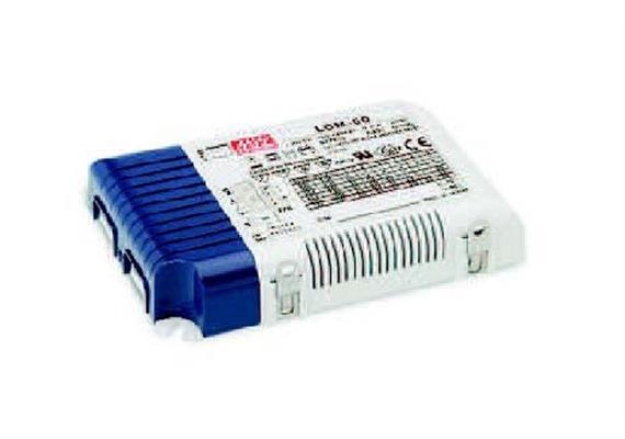 Schaltnetzgerät LCM-60 / 60W / 1-10V  180-240V / L=123.5 B=81.5 H=23