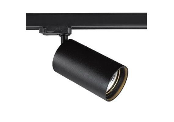 Schienenstrahler 1.Ph. Tube HV Led8W schwarz-gold 230V/2700K 760lm CR90 38° D=60H=90 IP20