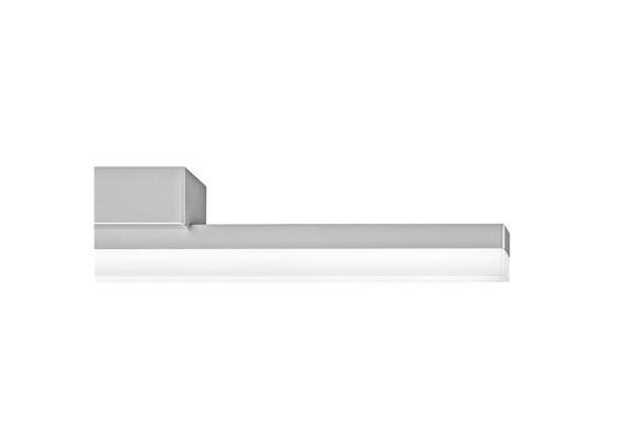 SpinaLed Anbauleuchte 12W 2700°K Chromglanz Opal 230V 1750lm L=900mm Diffusor Opal IP20