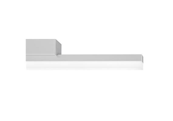 SpinaLed Anbauleuchte 8W mit Kunstglas Opal 230V/9W LED/3000K / 1200lm / IP20