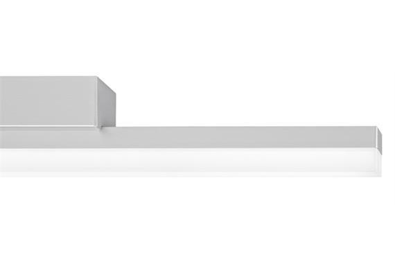 SpinaLed Anbauleuchte 9W mit Kunstglas Opal 230V/9W LED/2700K / 960lm / IP20