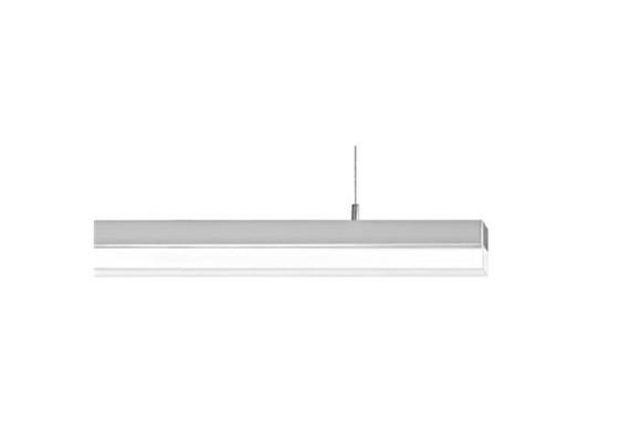 SpinaLed Pendelleuchte 18W mit Kunstglas Opal 230V/ LED/3000K / 2000lm / IP20