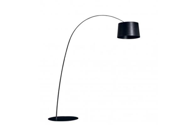 Steh- Bogenleuchte Twiggy schwarz LED 240V/33W 3000°K inkl. Dimmer 3448 lm